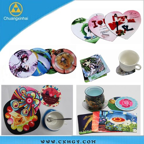 ISO9001 Certified cup coaster silicone custom With Good Service