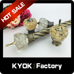 KYOK Curtain Accessories Curtain Poles ,Metal Material Curtain Poles