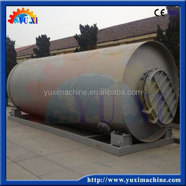 High oil extract rate Waste plastic pyrolysis to crude oil plant