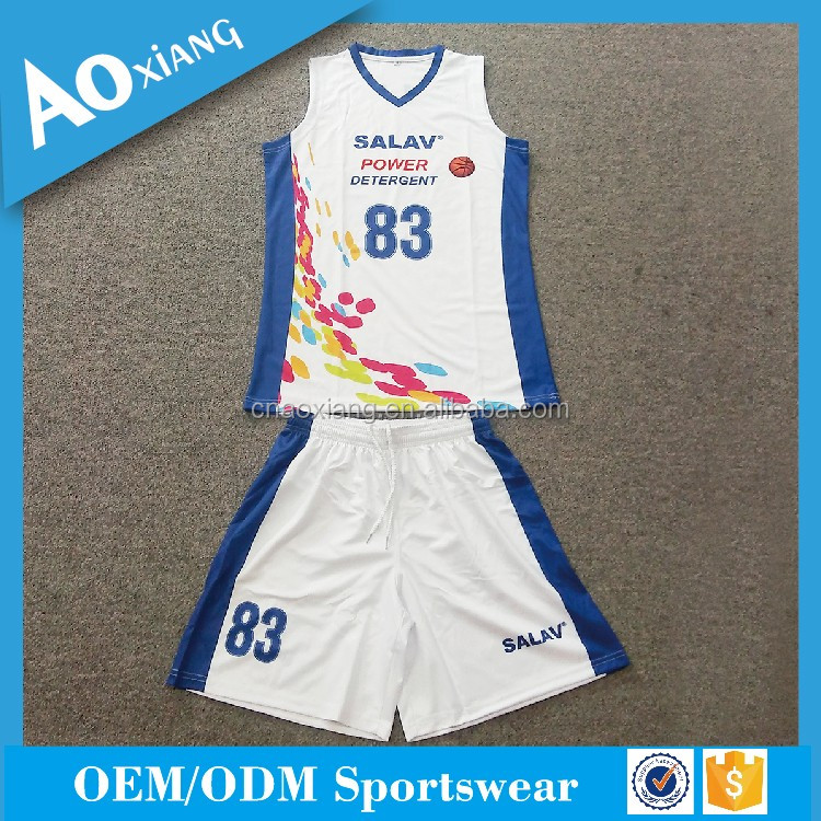 Custom Wholesale Sublimate basketball Uniform jersey for team wear
