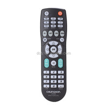 Set top box learning universal 4in1 remote control for TV/SAT/DVD/CBL