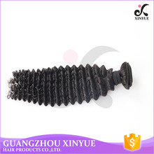 Fashion style cheap human extensions hair bundles wholesale deep wave hair for woman