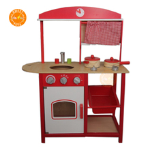 Best Choice Products Kids Wood Kitchen Toy Toddler Pretend Play Set Colorful Essentials Activity Kitchen