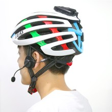 Popular full duplex bicycle helmet bluetooth intercon for long distance talking