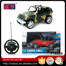 Meijin Fashion RC Car toys 1:18 Scale 4CH RC model Car remote control with light for kids