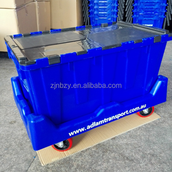 plastic moving wheeled dolly