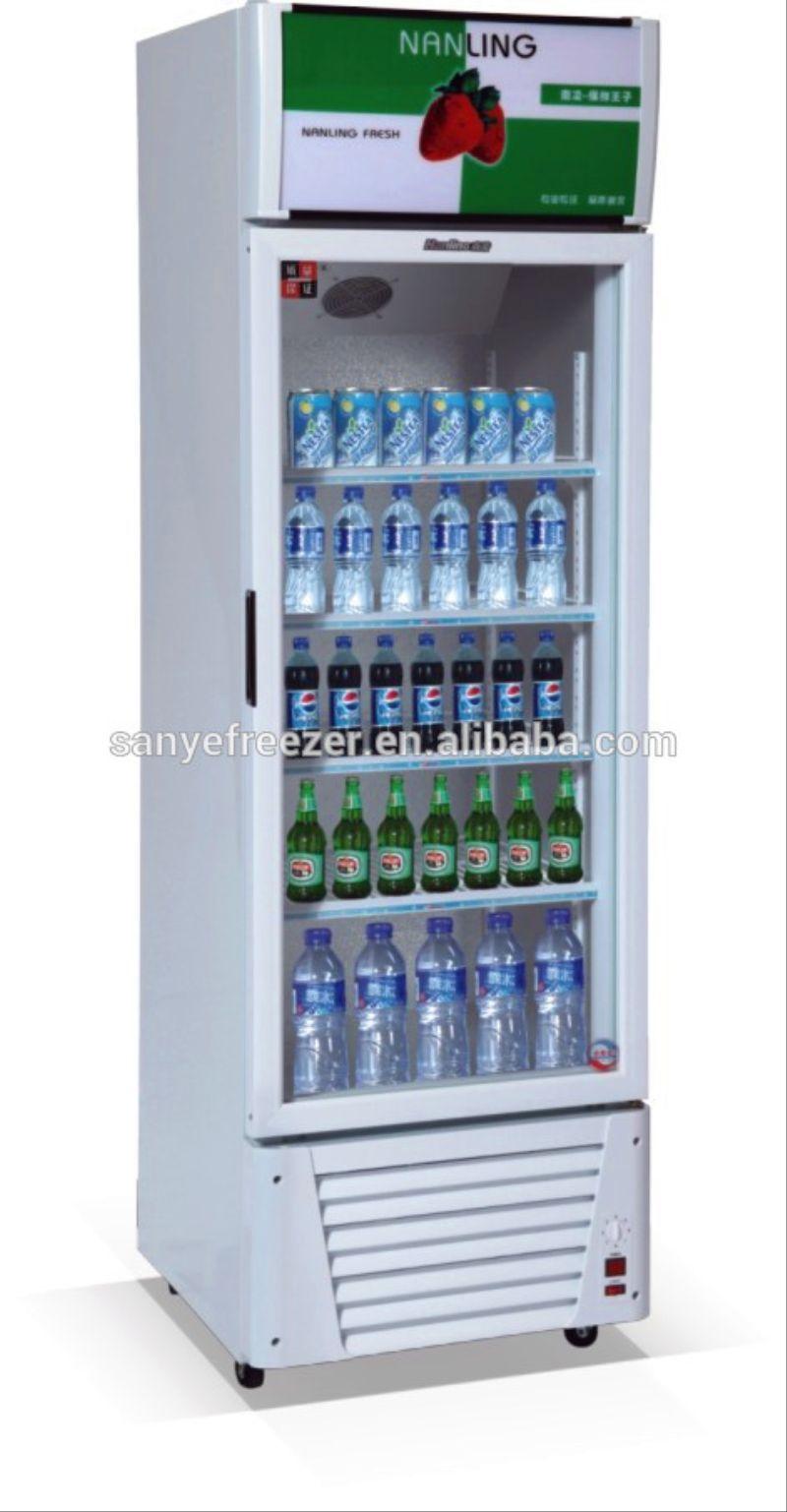 Sanye single door pepsi beverage display cooler with for 1 door display chiller