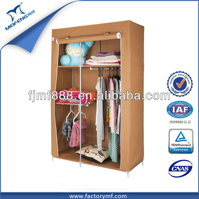Home Storage Furniture Portable Clothing Cabinet Designs for Small Bedroom