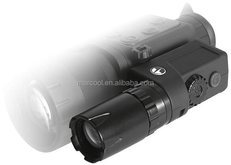 Pulsar L-808S Laser IR Flashlight tactical laser strobe flashlight with mount rail for night vision scopes and optical units