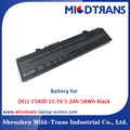 Top Rechargeable Laptop Battery Supplier for DELL E5400 11.1V 5.2Ah 58Wh Black