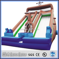 2015 New Giant Pirate Ship Slide Inflatable Dry Slide