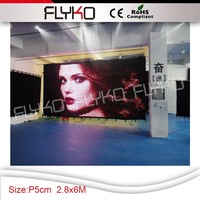 high quality 2016 hot sale hd led display full sexy movies/china sexy video curtain led display
