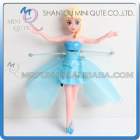 Mini Qute RC remote control flying Helicopter frozen Elsa anna olaf cartoon model plastic doll kids Electronic toys NO.MQ 8251
