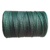 Green electric fence rope for horse fencing,6mm,white