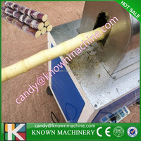Factory provide 200-300KG /H sugar cane peeling machine for sale