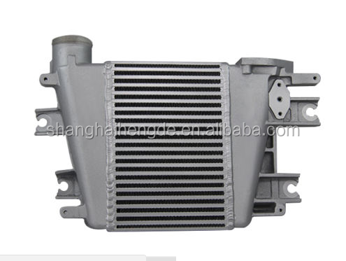 high performance Intercooler Upgrade ForNissan Patrol GU Y61 ZD30 3.0L TD 97-07 01 02 03 04
