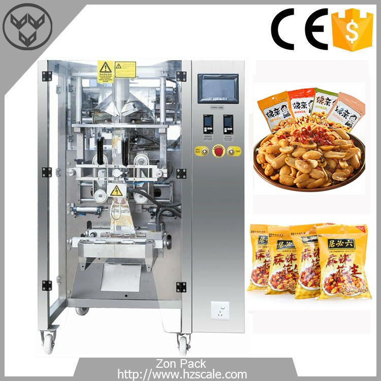 Automatic groundnut peanuts nougat pouch packing machine