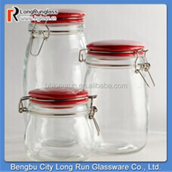 LongRun manufacturer high quality food use glass weck jars