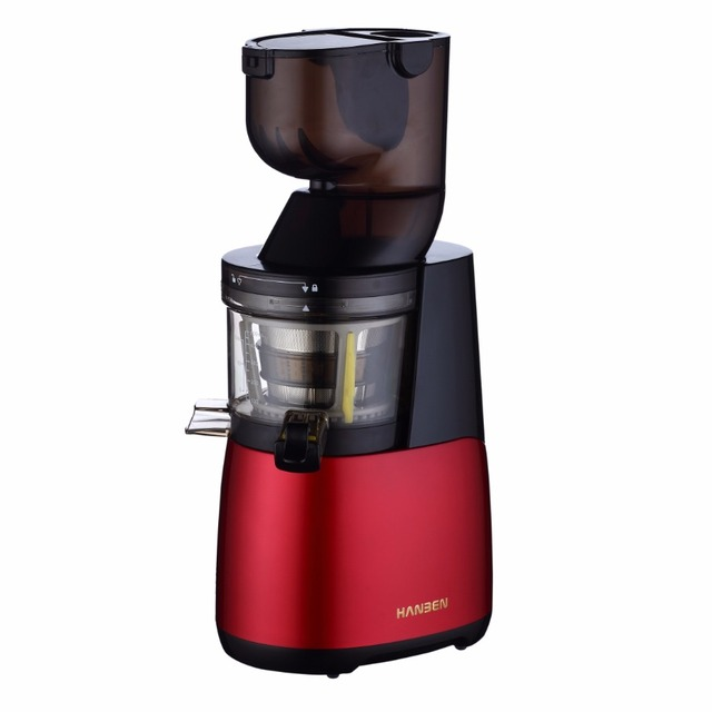 2017 Small Appliance New Promotion Big Mouth Low Noise Korea Hurom Juicer Whole Fruit Slow Juicer Industrial Juicer Machine