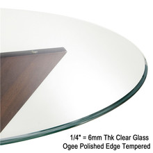 China Factory Toughened Glass panels for Led TV Table Top