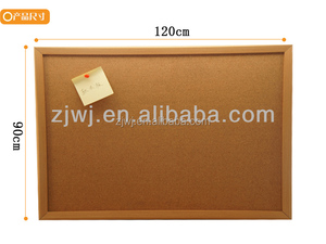 Made in China School cork board message board memo cork notice board