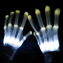 magic Flashing DJ concert dance led lighting party gloves
