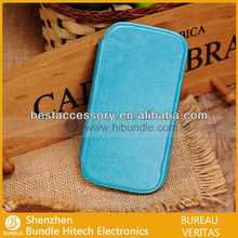 cowskin leather wallet case for samsung galaxy s3 i 9300