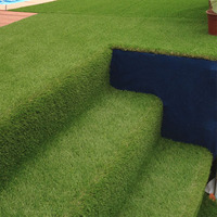 Garden Fake Grass Lawn With Drainage Holes