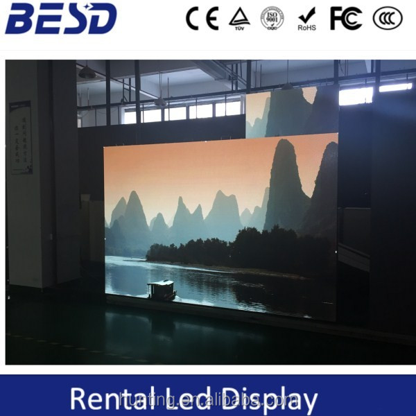 CE&RoHS approved HD image p6 p5 p4 p4.81 p3 p3.91 p2.5 mini led billboard led screen dj