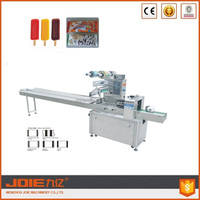 JOIE JY-350F horizontal automatic ice lolly popsicle ice cream packing machine