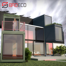 The movable modern miniature container houses for sale