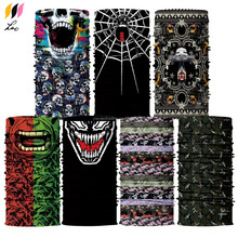 Wholesale Outdoor Sports Multifunctional Magic Scarf Tube Seamless Face Mask Factory Custom Printed Bandanas