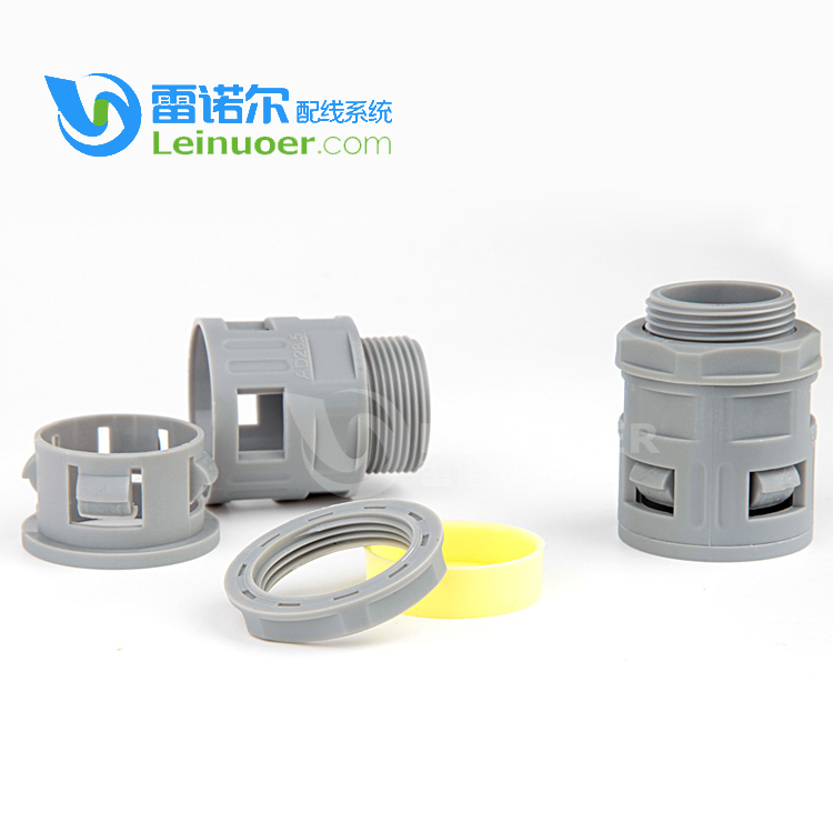 Alibaba Electrical Supplies -40 ~ +100 temperature pa66 conduit connector for hose/pipe/tube