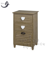 storage cabinet, three drawers wooden storage cabinet