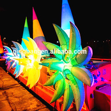 NB-FL2035 Ningbang inflatable passion and flower with LED light for advertising or wedding decoration