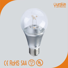hot sell! Isolated drive e26/E27 ra90 pure white 5000k dimmable led light