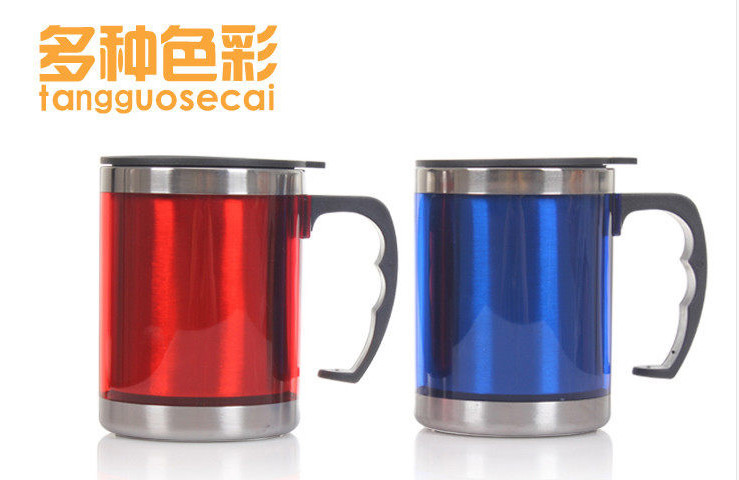 450ml Stainless steel water cups/thermos bottles/ drink cups