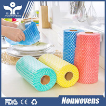 Super Soft Nonwoven tissue Paper/Shop towel perforited roll