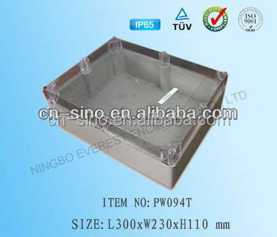 Waterproof ABS molded plastic electronic enclosure project boxes