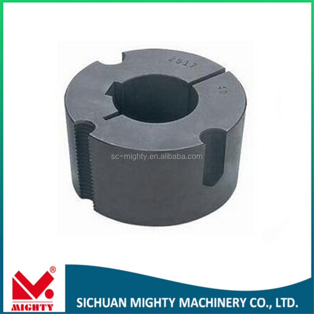 high quality taper bush taper lock 1008 1210 2012 2517 3020 taper lock bushing and v belt pulley