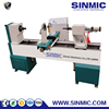 Jinan SINMIC 1530 CNC wood lathe/cnc woodworking lathe/cnc woodworking turning lathe