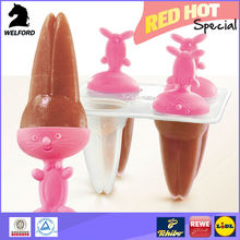 hot selling novelty funny plastic popsicle mold