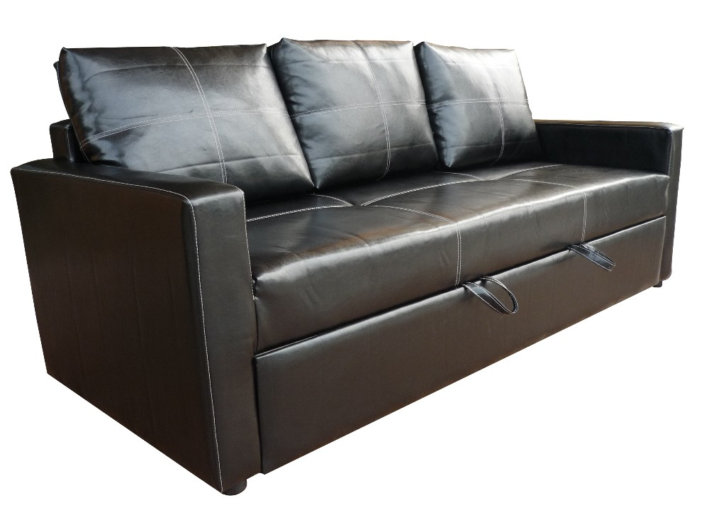 Modern pull out sofa bed Loveseat with pullout bed