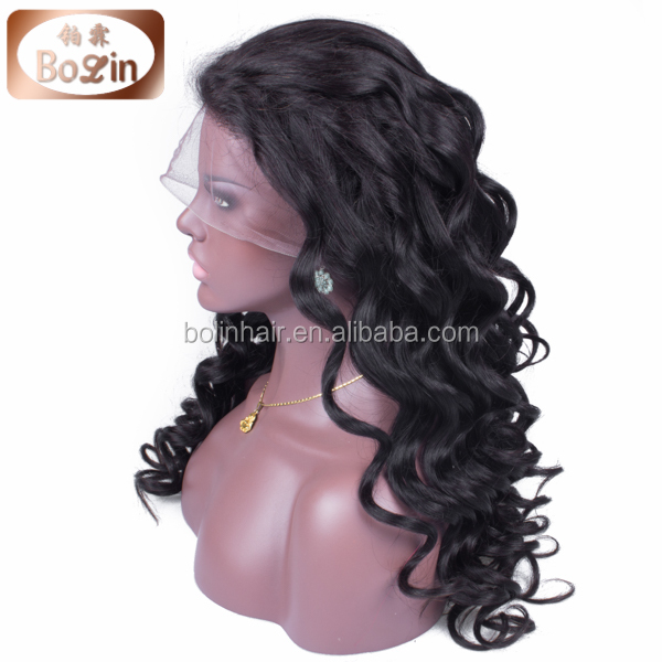 100% brazilian hair 6A grade natural color curl women big curly full lace african american braided wigs