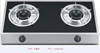High quality stainless steel 2 burners portable gas cooker/gas hob/cooktop/kitchen equipment