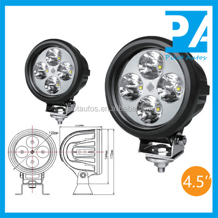 "Spot Flood Combination 40W 4.5"" inch Driving Light For ATV SUV off road 4x4 heavy equipments Truck Jeep Motorcycle Boat 0340"