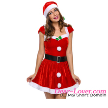 Hot sale New arrival Fancy Christmas costumes for adults