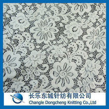 polyamide elastane stretch lace fabric