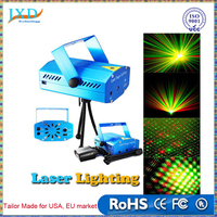 Portable multi led Projector DJ Disco Light music Stage lights Xmas Party wedding club show Laser Lighting projector