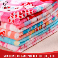 Quality-assured Washable Factory sale blanket fleece fabric